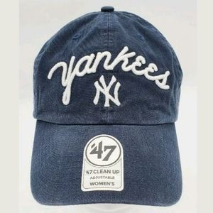 NY Yankees '47 Clean Up womens hat